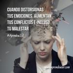 ¿Distorsionas tus emociones?...
