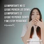 ¿Qué es lo importante para ti?